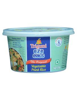 Veg Fried Rice (Serves 1) 66g, Ready to eat meals, Triguni Eze Eats