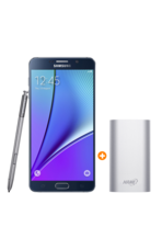 Samsung Note 5 with Hame Power Bank 10, 000mAh, 64gb,  black