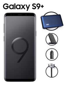 Samsung Galaxy S9+ Dual SIM 4G,  black, 256gb
