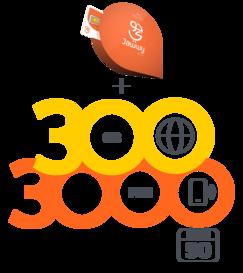 شريحة جوّي 500