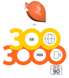 Jawwy SIM 500