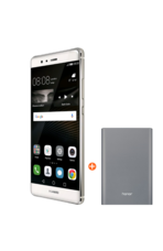 Huawei P9 with 13000mAh Power Bank, 32gb,  silver