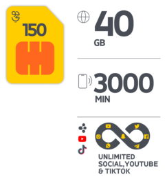 Jawwy SIM 150