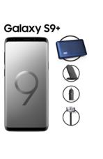 سامسونج جالاكسي +S9  شريحتين 4G, 256GB,  رمادي
