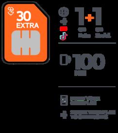 Jawwy SIM 30 Extra