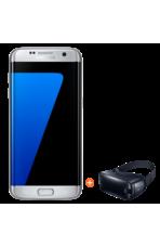 بشرحيتين S7 Edge سامسونج جلاكسي, 32GB,  Silver