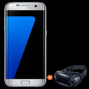 Samsung Galaxy S7 Edge Dual with Gear VR 2, 32gb,  silver
