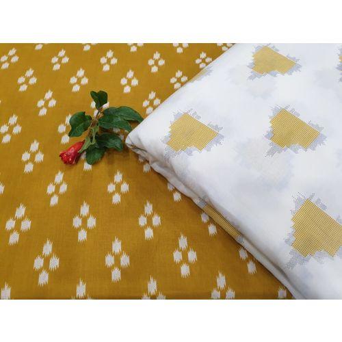 Pure Cotton Block Printed Salwar & Kurta Running Fabric for Salwar Suit Without Dupatta 4