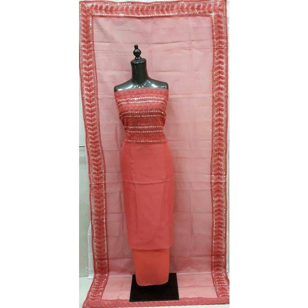 Supernet Kota Suit with Aari Work 40