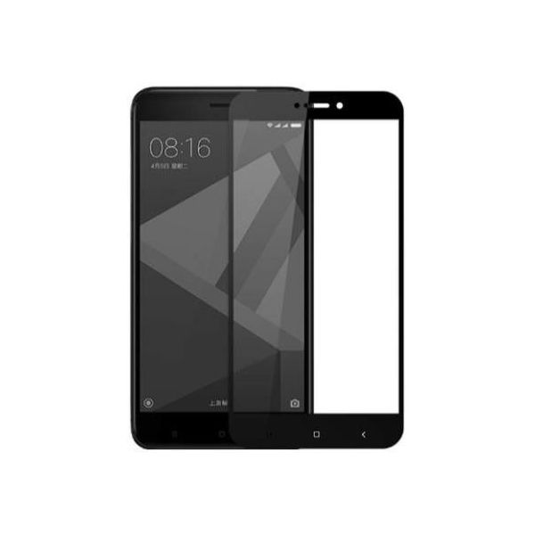 9H Hardened Edge To Edge Tempered Glass Screen Protector Screen Guard for Redmi 4 4X