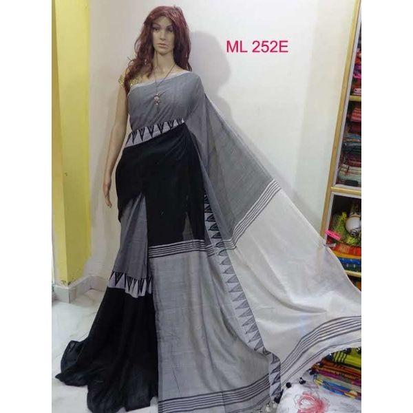 Madhyamoni Khadi Cotton Sarees Directly from Weavers 22