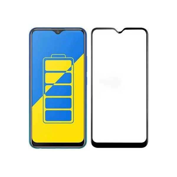 9H Hardened Edge To Edge Tempered Glass Screen Protector Screen Guard for Vivo Y15