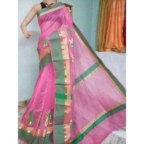 Banarsi Cotton Silk Saree 11