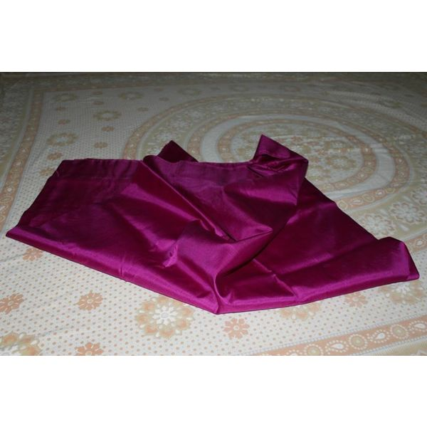Bishnupuri Silk Saree in Solid/Plain Colours 10