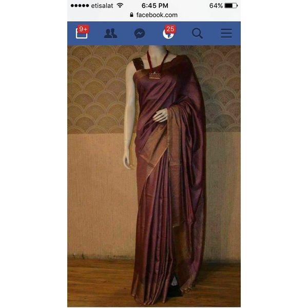 Bhagalpuri Tussar Moonga Silk Saree 9