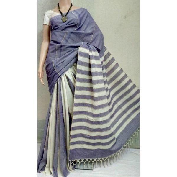 Pure Cotton Khes Saree 5