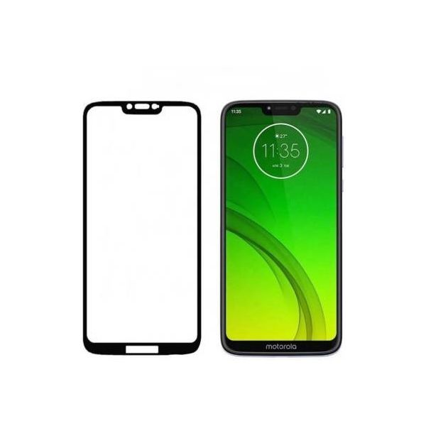 9H Hardened Edge To Edge Tempered Glass Screen Protector Screen Guard for Moto G7 Power