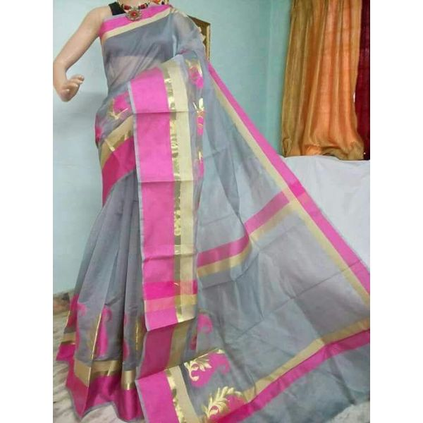Banarsi Cotton Silk Saree 8