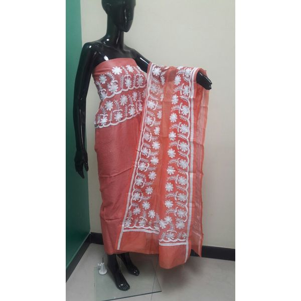 Supernet Kota Suit with Aari Work 20