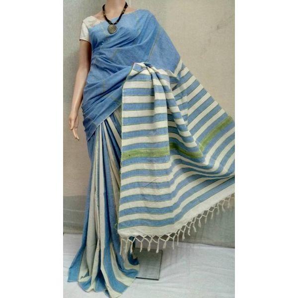 Pure Cotton Khes Saree 6