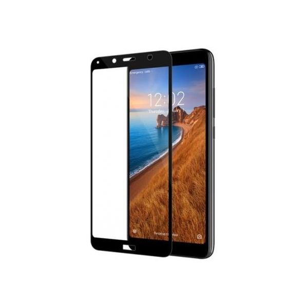 9H Hardened Edge To Edge Tempered Glass Screen Protector Screen Guard for MI Redmi 7A