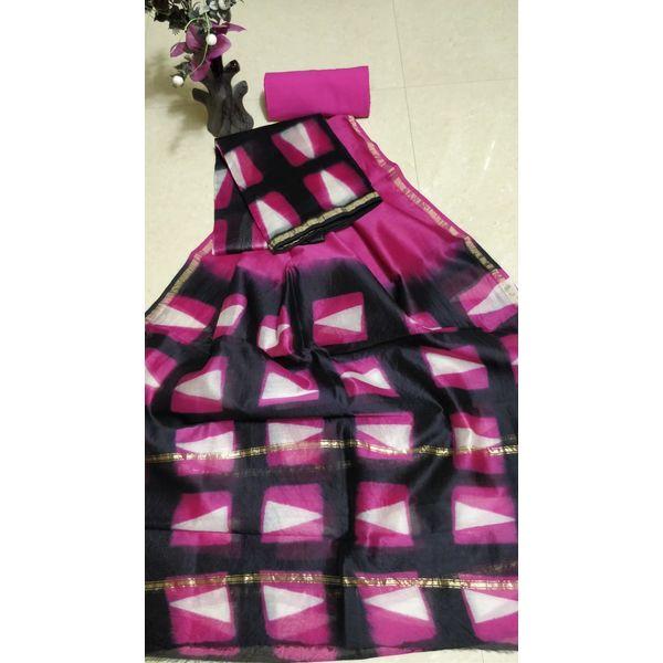 Chanderi Silk Salwar Suit-3