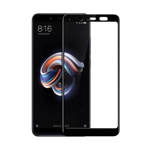 9H Hardened Edge To Edge Tempered Glass Screen Protector Screen Guard for Mi Redmi Note 5 Pro