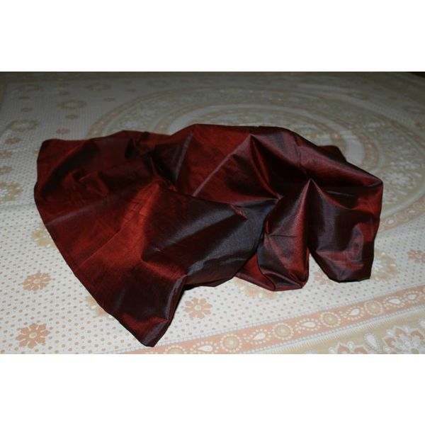 Bishnupuri Silk Saree in Solid/Plain Colours 9