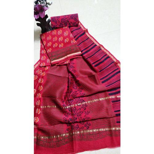 Chanderi Silk Salwar Suit-1