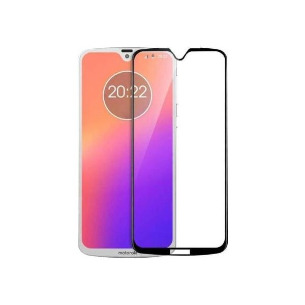9H Hardened Edge To Edge Tempered Glass Screen Protector Screen Guard for Moto G7