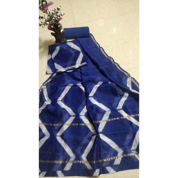 Chanderi Silk Salwar Suit-12