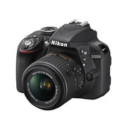 Nikon D3300 with 18-55mm Lens