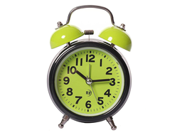 Rise N Shine Analog Green Clock