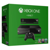 Microsoft Xbox One 500 GB Kinect 500 GB with Dance Central Spotlight, Kinect Sports Rivals, Zoo Tycoon, Forza Motorsport 6, Halo 5: Guardians (Black)