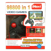 Inext INT-333 1 GB with 98800 Games Included (Black)