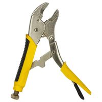 STANLEY USA Bi Material Handle Curved Jaw Locking Pliers