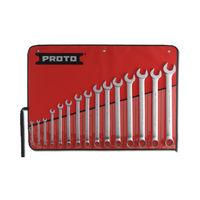 Proto USA 15 Piece Satin Metric Combination ASD Wrench Set 12 Point
