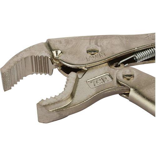 IRWIN Curved Jaw Locking Pliers, 7 /175mm