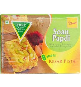 Gourmet Chandu Soan Papdi Kesar Pista