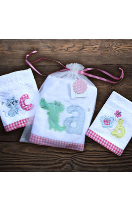ABC Towel Set