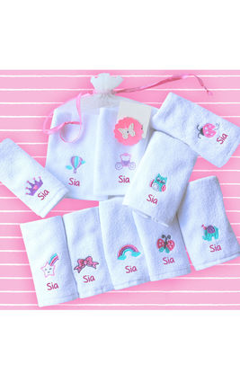 FairyTale Face Towel Set