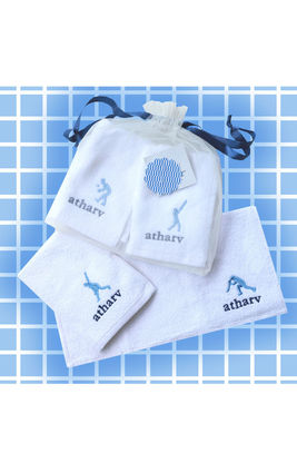 Game of Cricket Face Towel Set