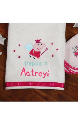 Peppa n Me Bath Towel