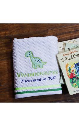Dino Bath Towel