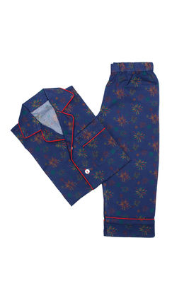 Navy Blue Celebration PJ Set, 3yr-4yr