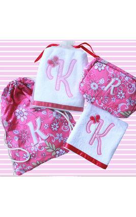 Letter Love in Pink Floral Gift Set