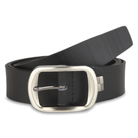 Dandy Black Leather Belt