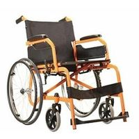 Wheelchair - Champion 200-Orange-Black
