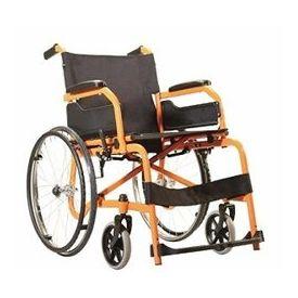 Wheelchair - Champion 200-Orange-Black