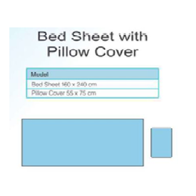 Surgical Bed Sheet with Pillow Cover
